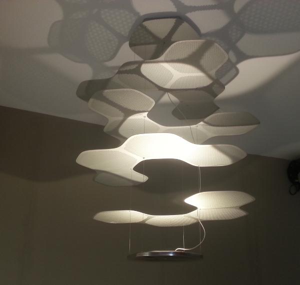 lampada space cloud artemide