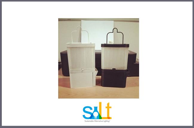 Salt Lamp fonte di luce alternativa e sostenibile.