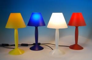 Miss Sissi, lampada disegnata da Philippe Starck per Flos