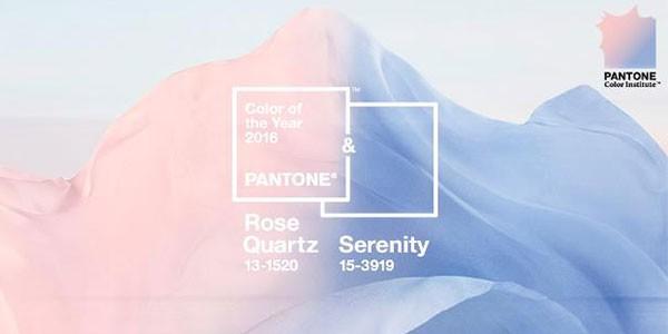 Rose Quartz e Serenity sono i colori del 2016