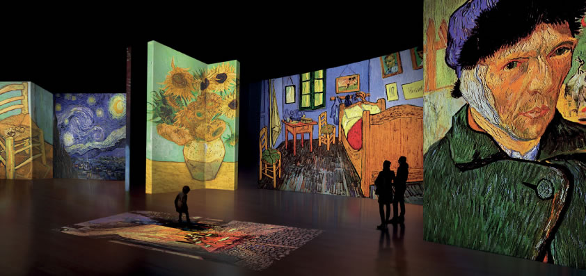 Van Gogh Alive - The Experience mostra multimediale Torino
