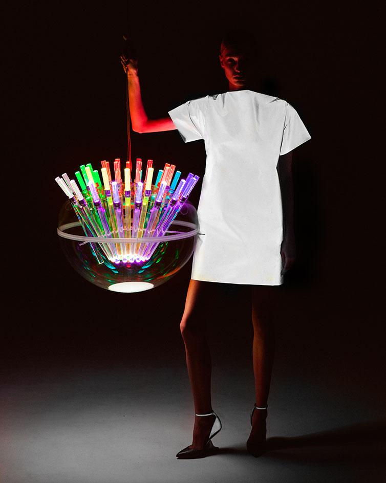 Il progetto spectral light di Artemide